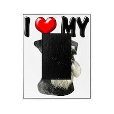 I Love My Miniature Schnauzer Picture Frame