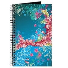 Blue Flowers (4G slider) Journal