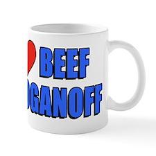 I Love Beef Stroganoff Mug