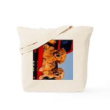 golden pu ipad Tote Bag