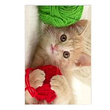 yarn kitty ipad Postcards (Package of 8)