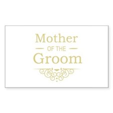 Mother of the Groom gold Decal