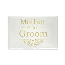 Mother of the Groom gold Magnets