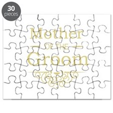 Mother of the Groom gold Puzzle