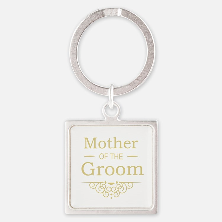 Mother of the Groom gold Keychains