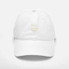 Mother of the Groom gold Baseball Baseball Cap