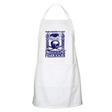 10x10_apparel_freemason_w_skull_blue Apron