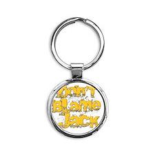DBJ T shirt Round Keychain