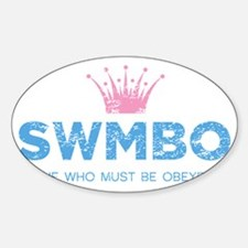 SWMBO_BLUE Decal