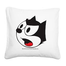 face2 Square Canvas Pillow