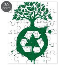 green recycle Puzzle