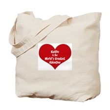 Greatest Valentine: Kaitlin Tote Bag