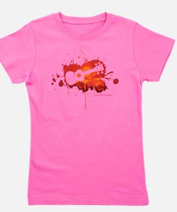 Ukulele Splash Red Girl's Tee