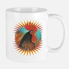 Rooster Red Mug