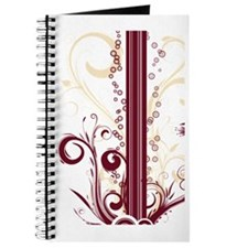 Maroon Stripes (4G slider) Journal