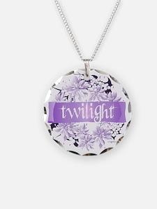 twilight wreath purple copy Necklace