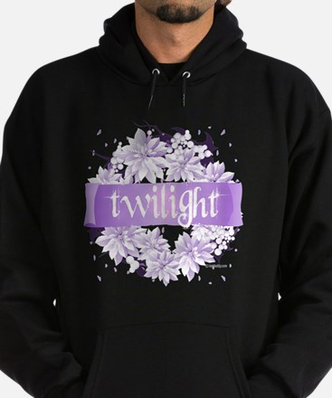 twilight wreath purple copy Hoodie (dark)
