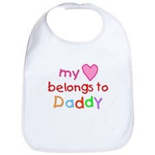 My Heart Belongs to Daddy (A) Bib