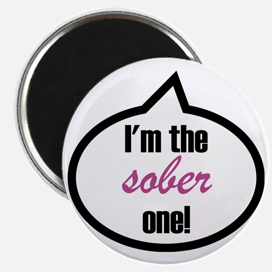 Im_the_sober Magnet
