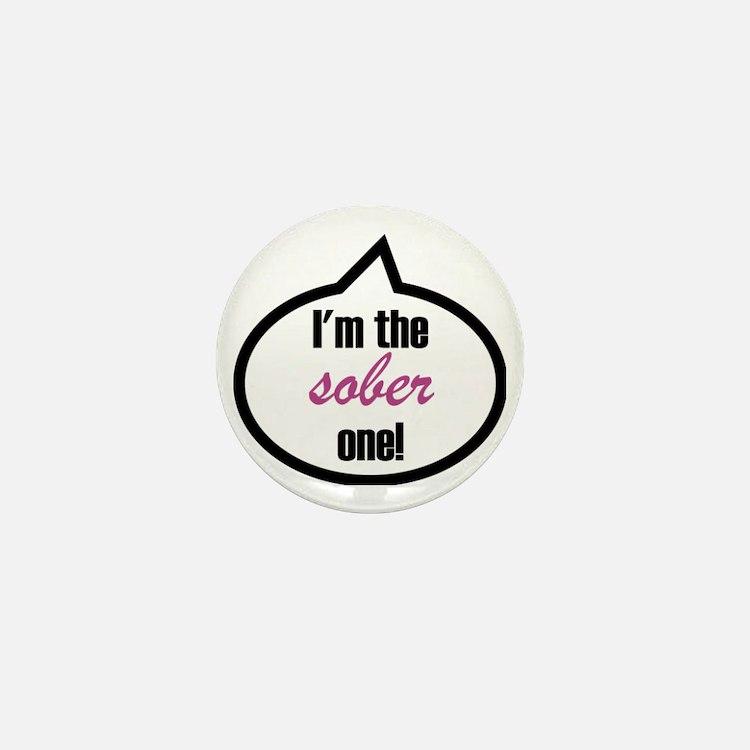 Im_the_sober Mini Button