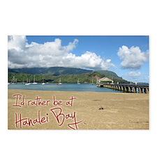 CalendarHanaleiBay Postcards (Package of 8)