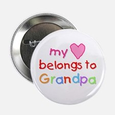 My Heart Belongs to Grandpa (A) Button
