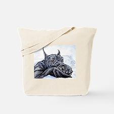 Great Dane Sofa Dreams BLK Tote Bag