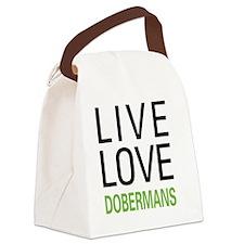 livedober Canvas Lunch Bag