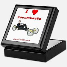 I love recumbents StreetFighter Keepsake Box