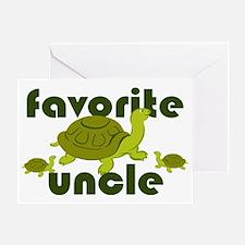 Favorite Uncle Greeting Card