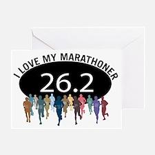 love marathon bk Greeting Card