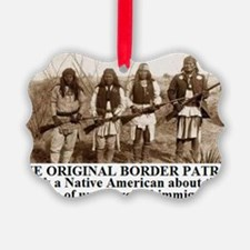 THE ORIGINAL BORDER PATROL1 Ornament