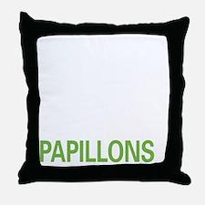 livepapillon2 Throw Pillow