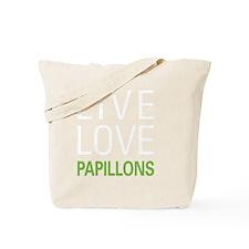livepapillon2 Tote Bag