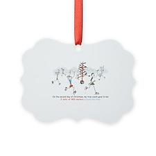 runners_around_christmas_tree1 Ornament