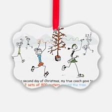 runners_around_christmas_tree1 Ornament