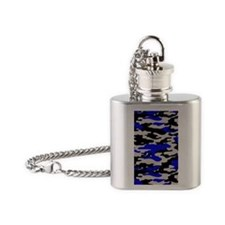 B AND B IPAD CASE Flask Necklace