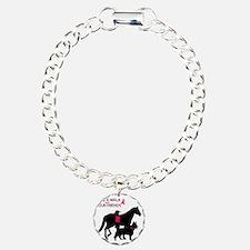 AwalkWithFriends Charm Bracelet, One Charm