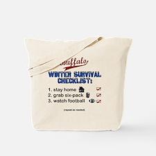 Buffalo Winter Tote Bag