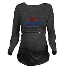Buffalo Winter Long Sleeve Maternity T-Shirt