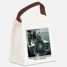 FARTING1 Canvas Lunch Bag