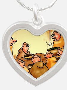 mendelspeas Silver Heart Necklace
