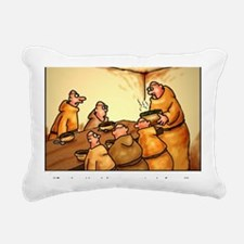 mendelspeas Rectangular Canvas Pillow