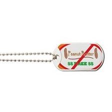 Peanut Free 5x3oval_sticker Dog Tags
