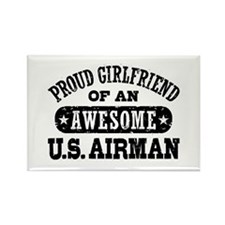 Proud Girlfriend of an Awesome US Airman Rectangle