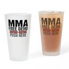 MMA shirts - free demo, push here Drinking Glass