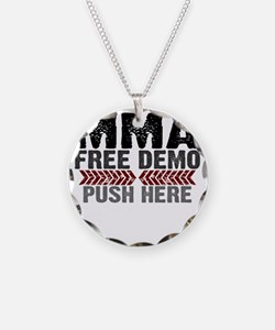 MMA shirts - free demo, push Necklace