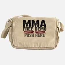 MMA shirts - free demo, push here Messenger Bag