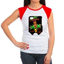 443_iphone_case copy Women's Cap Sleeve T-Shirt