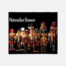 NutcrackerSeason2 Throw Blanket